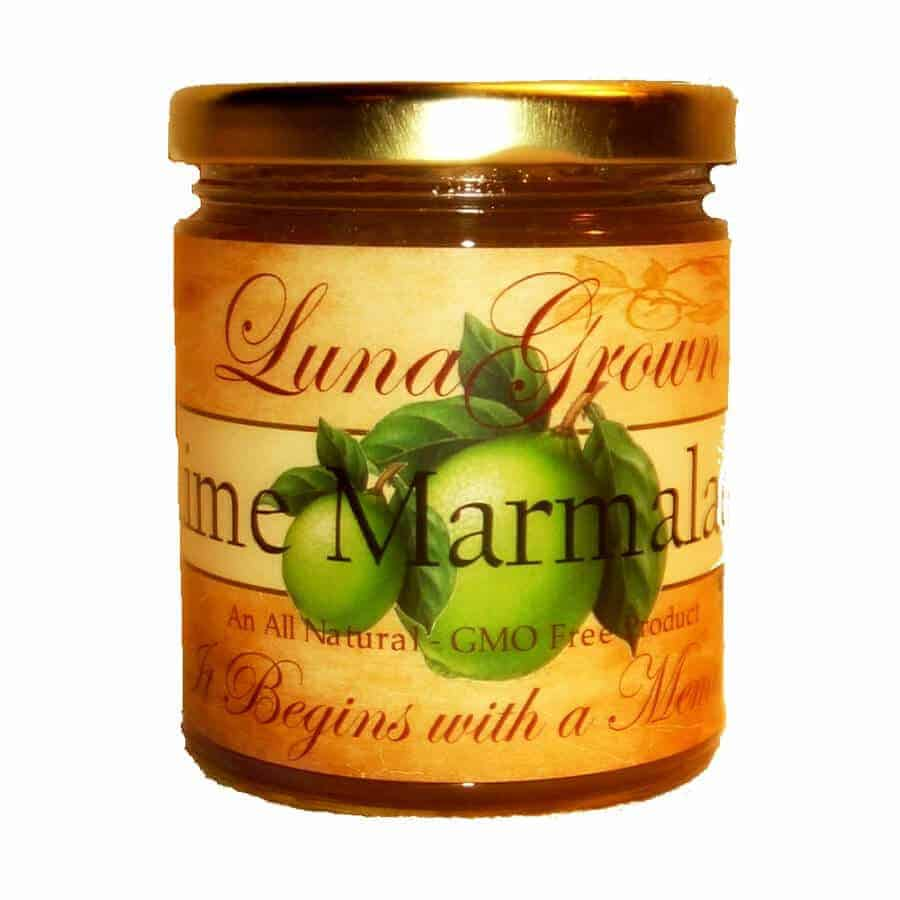 LunaGrown Lime Marmalade