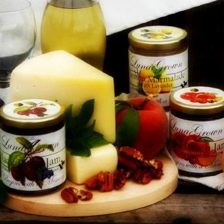 LunaGrown cheese pairing