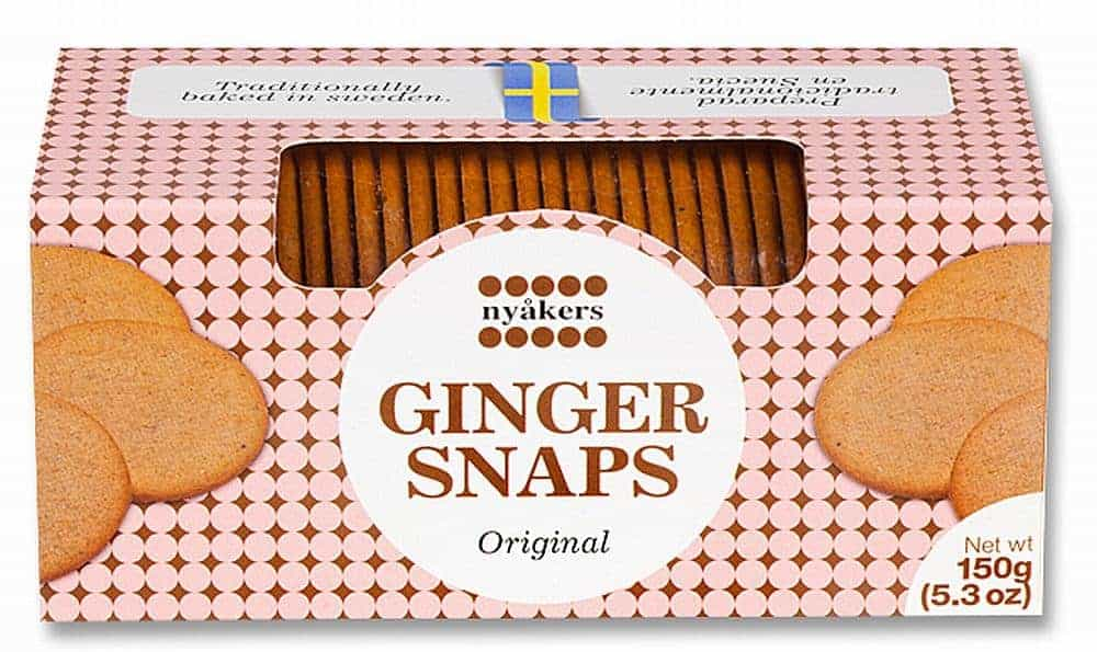 Nyakers Original Gingersnaps