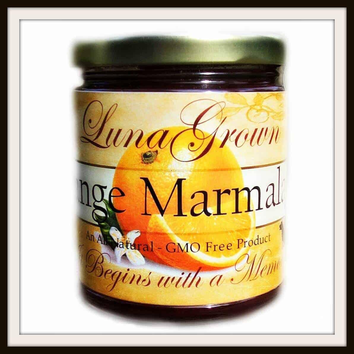 LunaGrown Orange Marmalade
