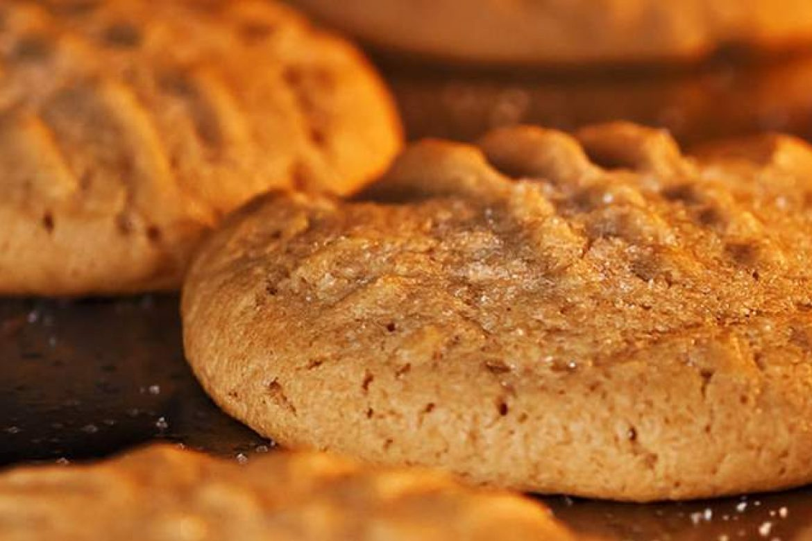 Soft Peanut Butter Cookies with LunaGrown NY Grape Jelly