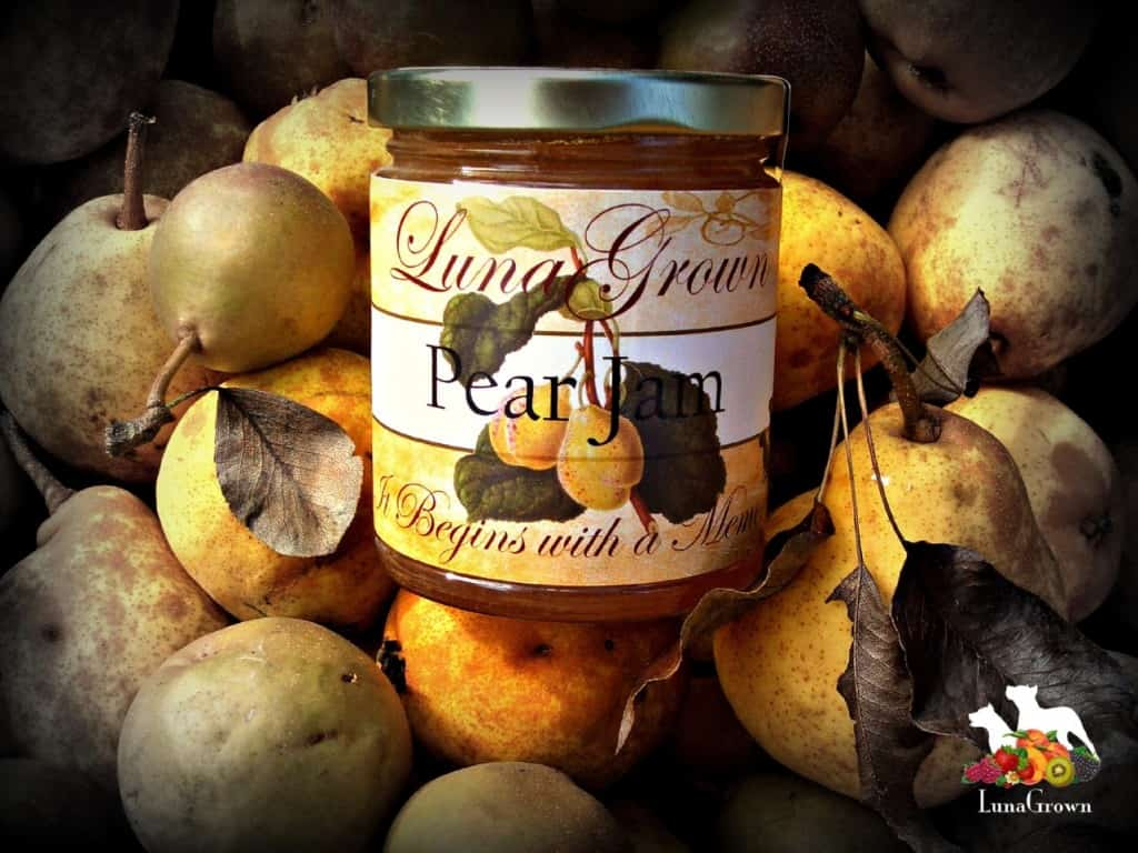 A customer favorite! Vanilla Pear Jam
