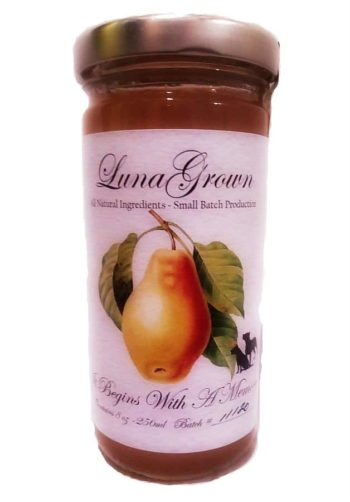 vanilla pear jam