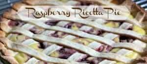 The FarmGirl cooks raspberry ricotta pie
