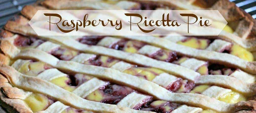 Raspberry Ricotta Pie