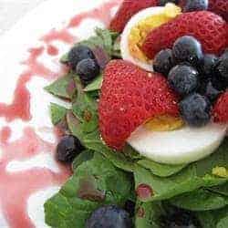 Raspberry Vinaigrette, making delicious raspberry vinaigrette, salad dressing, salad dressing made with jam, jam, Hudson Valley, LunaGrown
