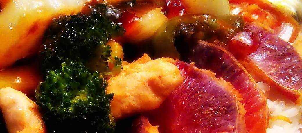 Chicken Stir Fry Hot sauce