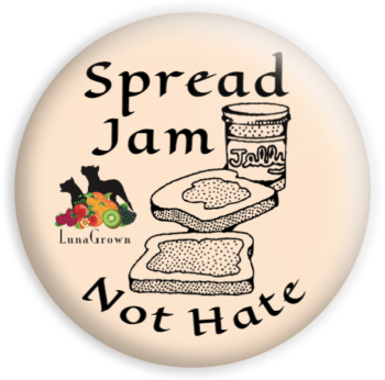 spread jam button LunaGrown