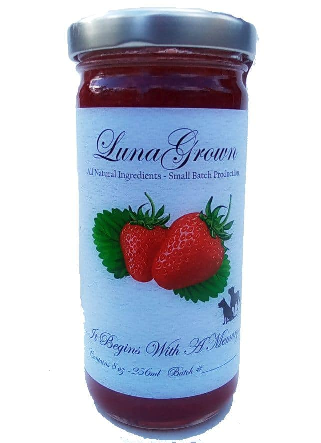LunaGrown strawberry jam