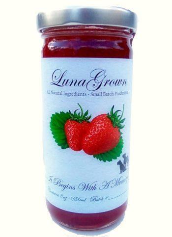 LunaGrown strawberry jam