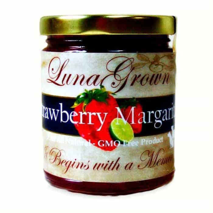 LunaGrown Strawberry Margarita Jam