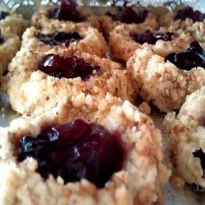 Cookies with LunaGrown Jam Center
