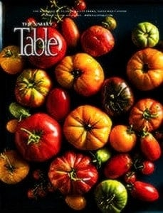The Valley Table Magazine