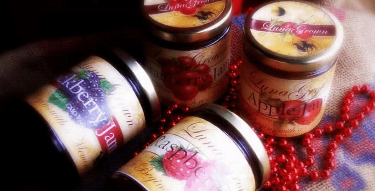 Jars of LunaGrown